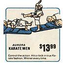 Aurora Karate Men 70s Toy Ad by PlaidStallions
