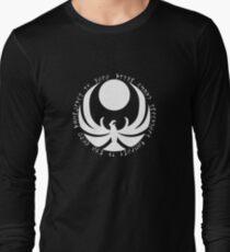 The Nightingales Symbol - Daedric writings Long Sleeve T-Shirt