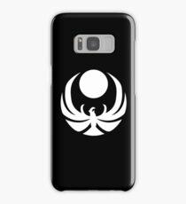 The Nightingales Symbol - simple white Samsung Galaxy Case/Skin