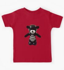 Goth Teddy Bear! Kids Tee
