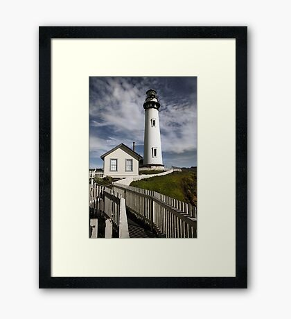 Pigeon Point Lighthouse II Framed Print