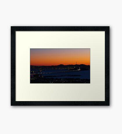 San Francisco Bay Area Framed Print