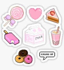 Kawaii Pink Stickers | Multiple Pack Sticker