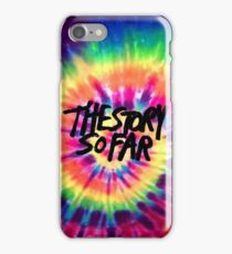 The Story So Far - Tie Dye iPhone Case/Skin