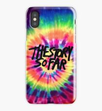 The Story So Far - Tie Dye iPhone Case