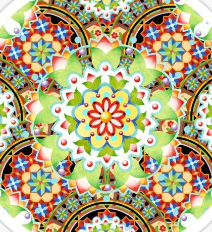 Carnival Mandala Sticker