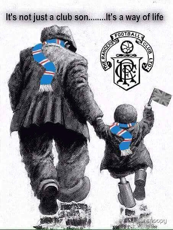 Glasgow Rangers Posters Redbubble