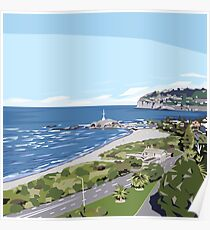 Sumner Beach, NZ by Ira Mitchell-Kirk Poster