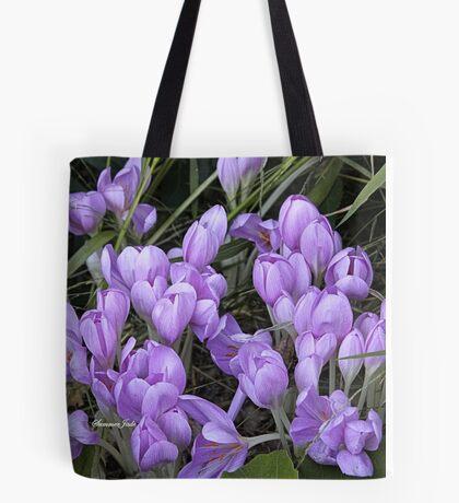 Crocuses ~ It Must Be Spring! Tote Bag