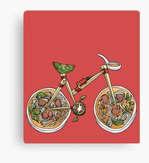 Pho Wheels Canvas Print