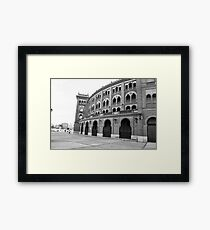 Plaza Del Toro - Madrid, Spain Framed Print
