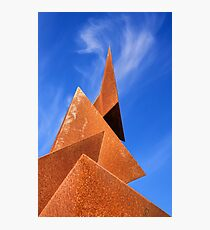 Twisted Pyramids Photographic Print