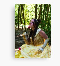 A princess Canvas Print
