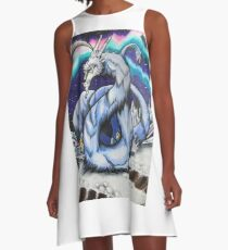 Abominable Dragon Mother A-Line Dress