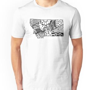 Montana zendoodle by nickolettamay redbubble for T shirt printing in palmdale ca