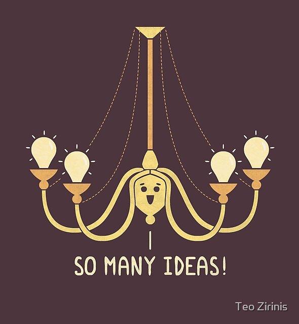 Full Of Ideas by Teo Zirinis
