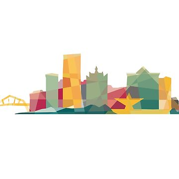 Polygonal Milwaukee | Organic by abowersock