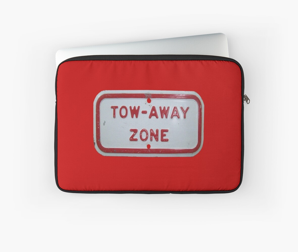 Tow-away zone by Joshua Potter