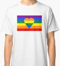 Rainbow heart Classic T-Shirt