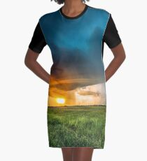 Invasion Graphic T-Shirt Dress