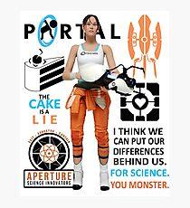 Portal Photographic Print