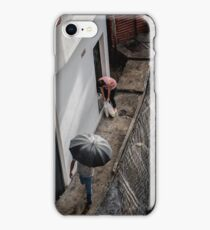 Regen in Caracas iPhone Case/Skin