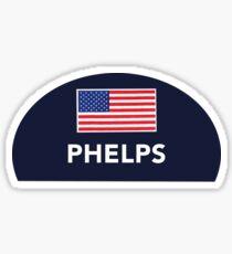 Phelps Swimcap Sticker