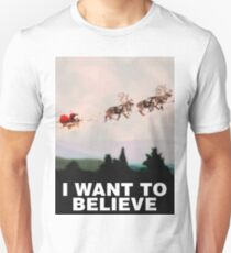 I Want to Believe, X-Files spoof T-Shirt