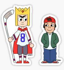 King Bob & TJ Sticker