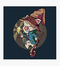 Final Fantasy Wizard Moogle Photographic Print
