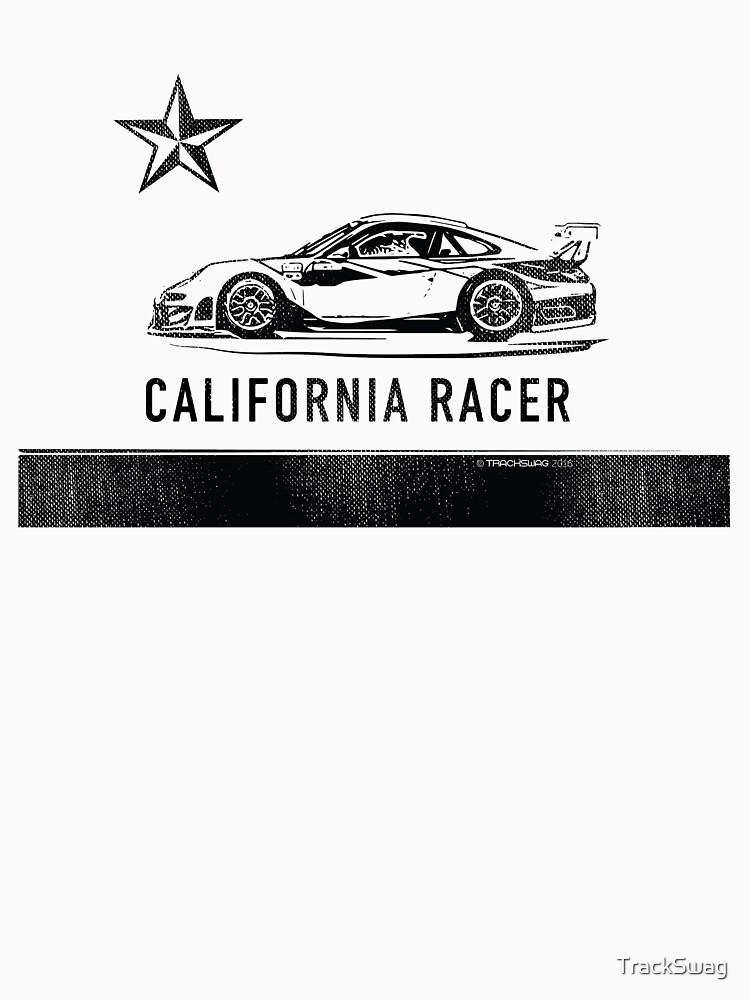 California Racer - Black Porsche by TrackSwag