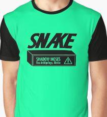 Snake Cardboard Box Graphic T-Shirt