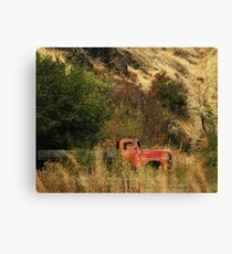 Oregon Truck  Canvas Print