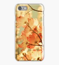 Vintage Pink Spring Flowers iPhone Case/Skin