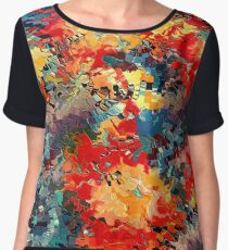 Happiness by rafi talby Chiffon Top