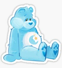 Bedtime Bear Sticker