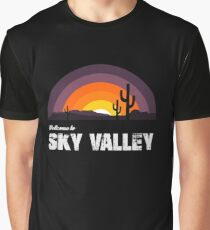 Welcome To Sky Valley Graphic T-Shirt