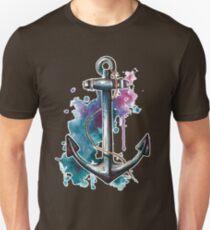 Nautical Watercolor Anchor T-Shirt