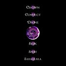 Crown Chakra 7 Point by 86248Diamond