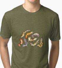 Camiseta de tejido mixto gecko baby