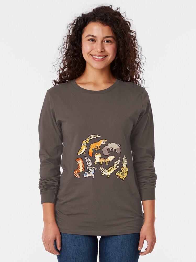 Alternate view of chub gecko babies Long Sleeve T-Shirt