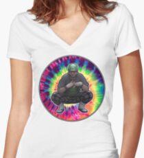 Vape Nation Women's Fitted V-Neck T-Shirt