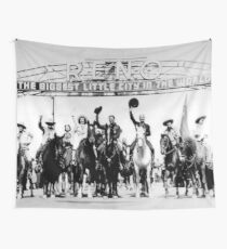 Reno Arch - Old Reno Cowboys Wall Tapestry