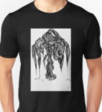 Micron brush pen drawing T-Shirt