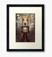 Black Widow by Élian Black'Mor Framed Print