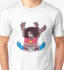 smoky quartz they/them Unisex T-Shirt