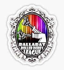 BRDL Rainbow Logo - Clothing, Pillows & Phone Wallet Sticker