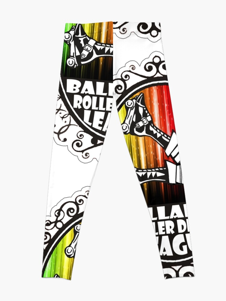 Alternate view of BRDL Rainbow Logo - Clothing, Pillows & Phone Wallet Leggings
