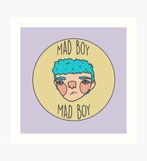 Mad Boy Art Print