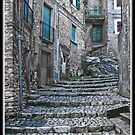 Artena Steps & Walkways Italy by Warren. A. Williams